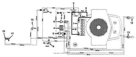 mtd qh  parts diagram  electricalswitches