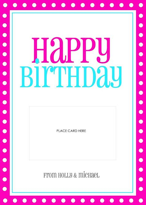 Birthday Cards Templates Word Microsoft Word Birthday Card Template