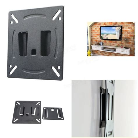 computer monitor wall mount universal 12 24 inch lcd led plasma monitor tv computer screen wall mount bracket at banggood
