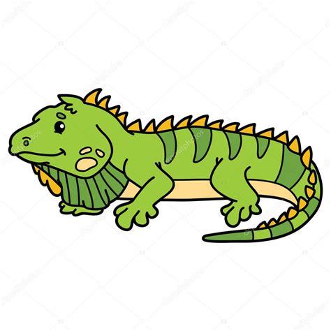 imagenes animadas de iguanas lindo colorido iguana archivo im 225 genes vectoriales