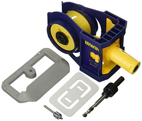 irwin tools door lock installation kit buy special tools hardware irwin tools bi metal door