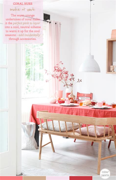 dining room decorating ideas 2013 palette addict coral dining room decor idea bright