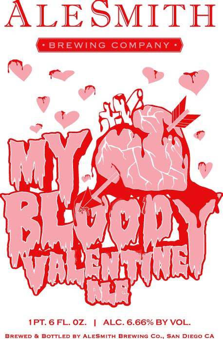 all my bloody valentines alesmith my bloody thefullpint