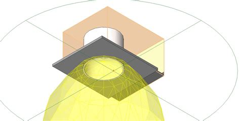 Lu Downlight Interior bim objects families