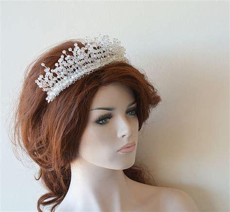 Wedding Hair Accessories Tiara by Bridal Tiara Wedding Tiaras Wedding Hair Accessories