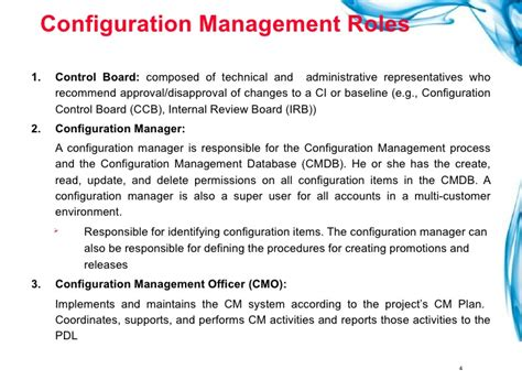 configuration management plan template change and configuration management plan template