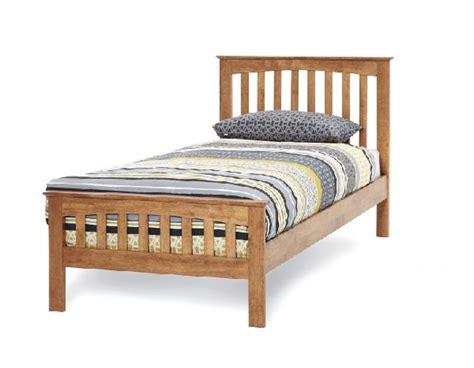 Single Wood Bed Frames Serene Amelia 3ft Single Oak Wooden Bed Frame By Serene Furnishings