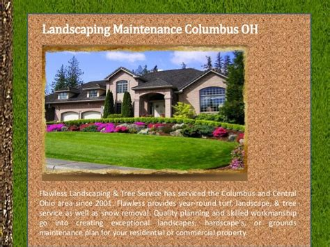 landscaping columbus ohio landscaping maintenance columbus oh