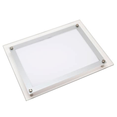 light box tracing table ultra thin led stencil tracing light box table ebay