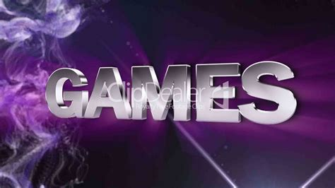 games text in particle double version blue hd1080