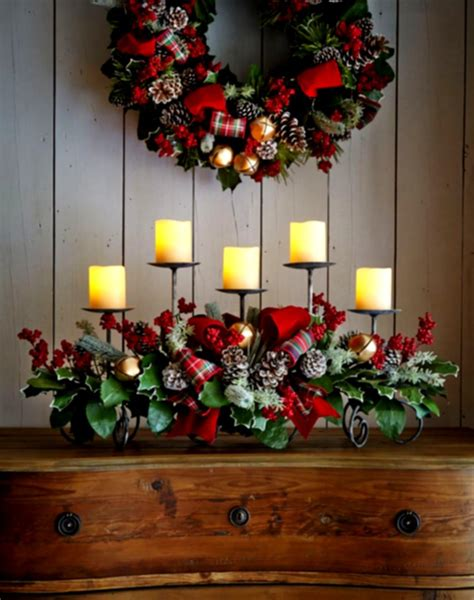 table decoration great rustic christmas table decorations ideas with