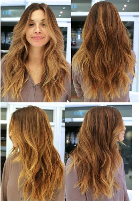 pictures of the ladies long curly layered haircut called the gypsy cut from the 1970s textured layered wavy hair by anh co tran hair with a