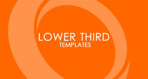 lower third templates nvgear s profile on themeforest