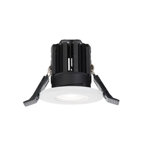 61064 Shield Led Bathroom Recessed Fixed Saxby Bathroom Lighting