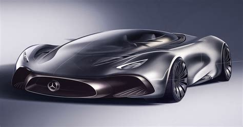 mercedes supercar designer s take on a mercedes hybrid supercar looks