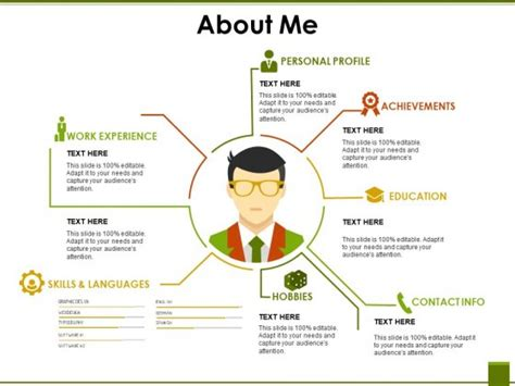 About Me Powerpoint Template Powerpoint Presentation Template About Me Images Powerpoint Template And Layout