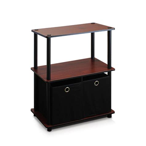 to go 3 shelf bookcase hton bay 3 shelf decorative bookcase in brown