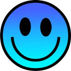 Smiley face dark light blue colour ladies t shirt hoodies