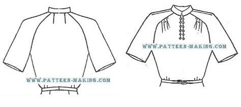 pattern grading raglan drafting raglan pattern making com