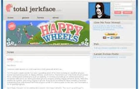 totaljerkface home of happy wheels happy wheels