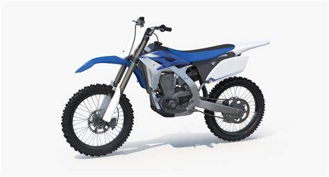 model motocross bikes 3d model 2013 yamaha yz250f motocross