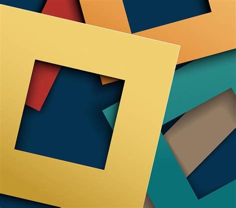 Shapes With Paper - abstract paper square shapes background digital by km