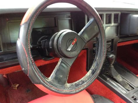 1984 Corvette Interior Parts by Ventage Clean Garaged Two Owner 1984 Corvette Black With