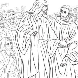 coloring page jesus heals bleeding jesus heals the sick coloring pages az coloring pages