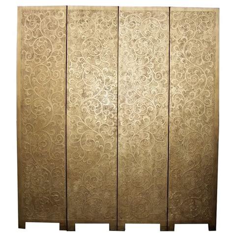 Gold Room Divider Floral Gold Coromandel Room Divider Screen