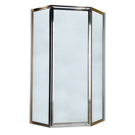American Standard Shower Doors Shop American Standard Framed Silver Shower Door At Lowes