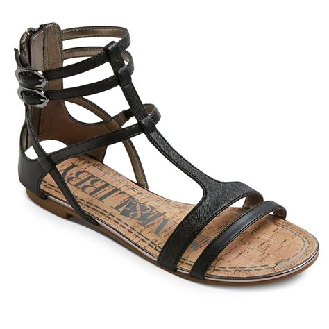 sam libby sandals s sam libby hadlee gladiator sandals black 7 5