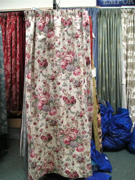 laura ashley cream curtains 1000 images about floral second hand curtains on
