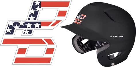 design baseball helmet decals bat company youth baseball club custom baseball batting