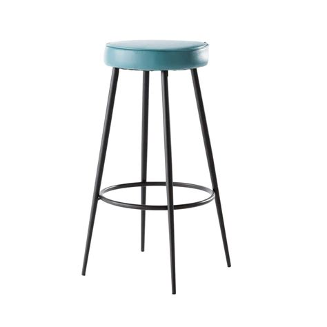Tabouret De Bar Bleu by Tabouret De Bar Bleu Caps Maisons Du Monde