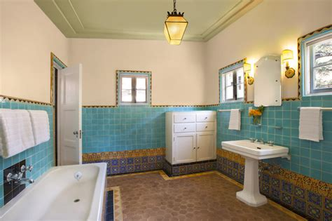 mediterranean bathroom los angeles