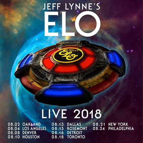 Jeff Lynne S Electric Light Orchestra Announce U S
