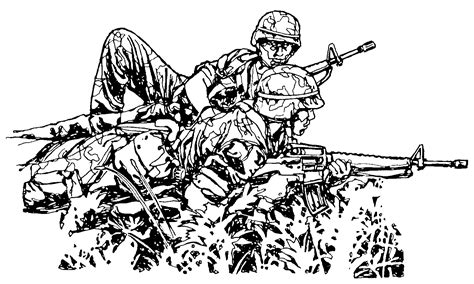 usmc marine coloring pages