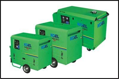 generator panels portable gensets kirloskar