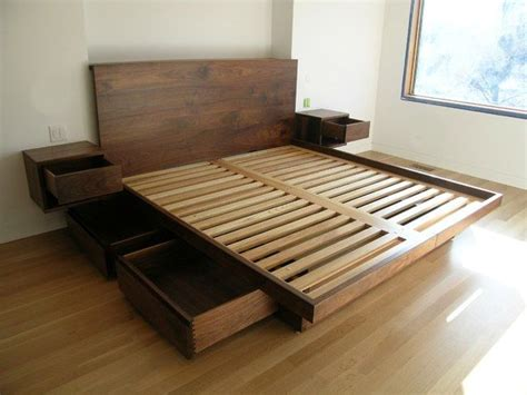 contemporary modern bed designs  storage  bed