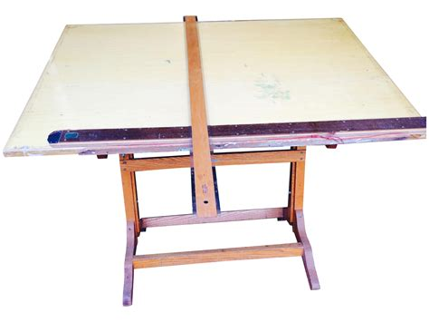 frederick post drafting table frederick post drafting table chairish