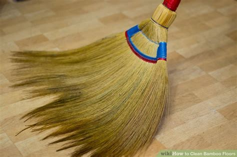Clean Bamboo Floors by How To Clean Bamboo Floors 9 Steps With Pictures Wikihow