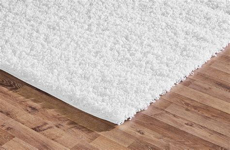 White Modern Rug Shaggy Rug White Soft Warm Carpet Modern Rugs Contemporary Plain Fluffy Ebay