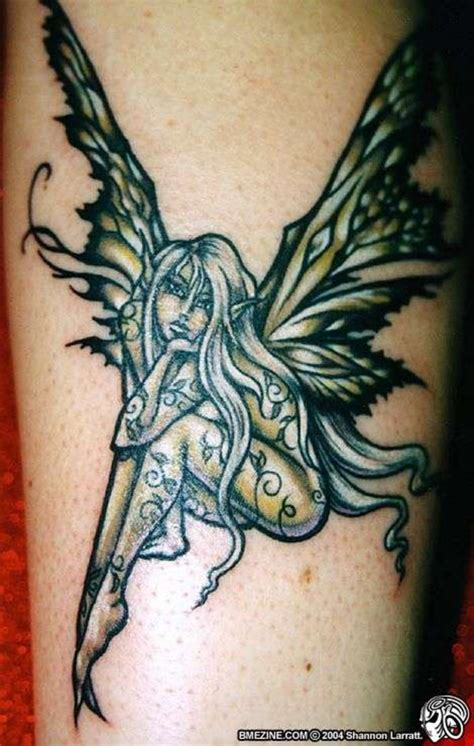 fairy tattoo designs ideas picture gallery with meanings