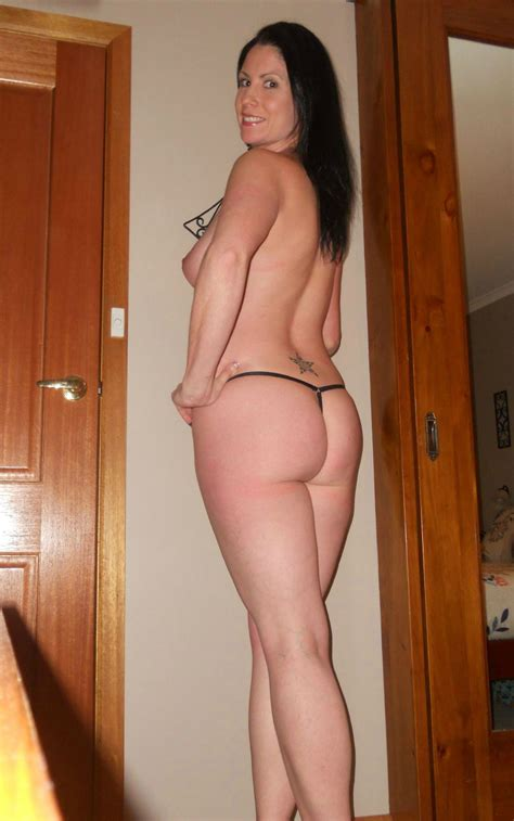 Sexy Milf In A Thong Porn Pic Eporner
