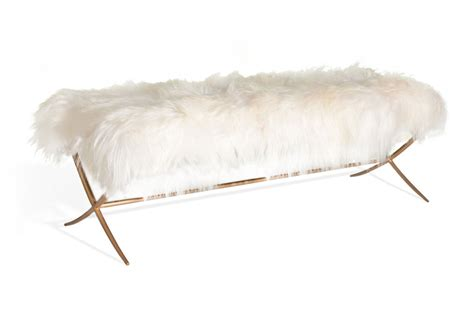 sheepskin bench ramone bradley