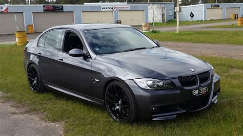 2007 sparkling graphite bmw 335i e90 sedan pictures mods