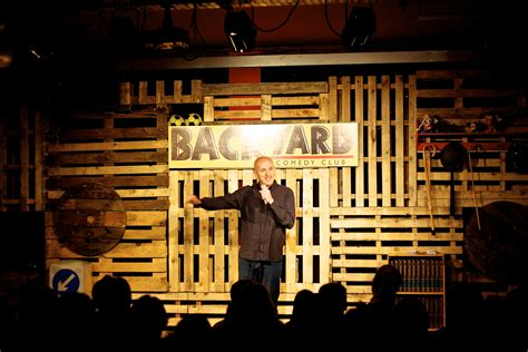 backyard comedy club time out card event get tickets to one of 12 shows at
