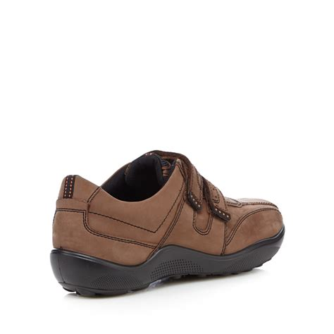 debenhams sports shoes hotter mens brown leather mix waxed rip shoes from
