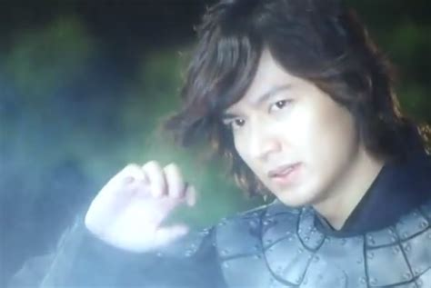 Lee Min Ho New Film 2012 | lee min ho as a warrior from the past films and books