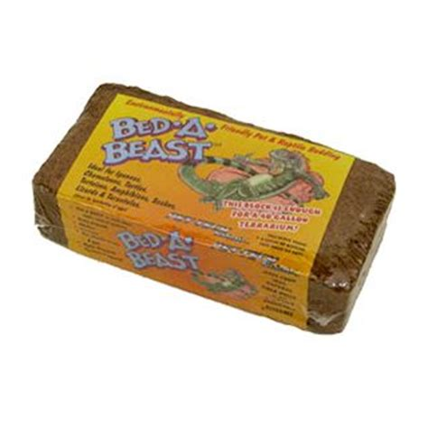 bed a beast coconut fiber substrate for reptiles